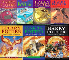allllll harry potter books
