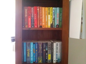 bookshelfRAINBOW